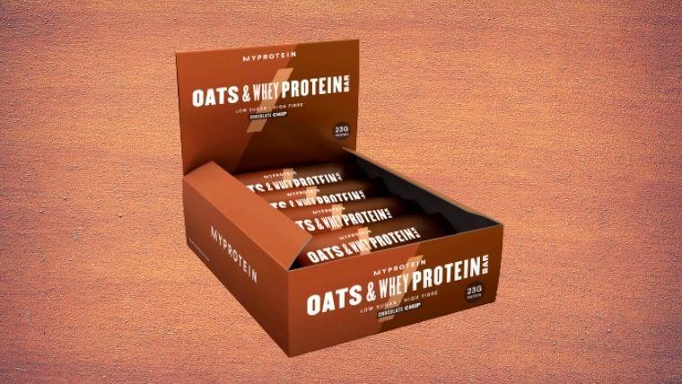 マイプロテインのオーツ&ホエイプロテインバー商品情報